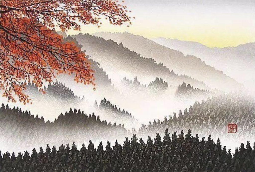 Tableau de Shufu Miyamoto