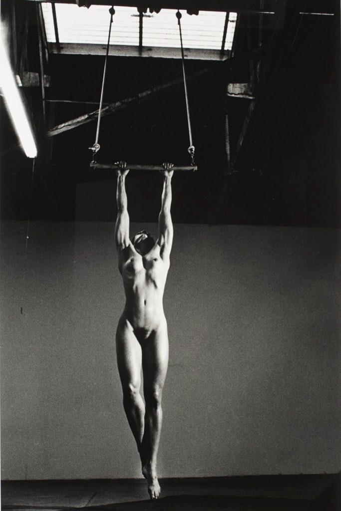 Lisa Lyon par Helmut Newton