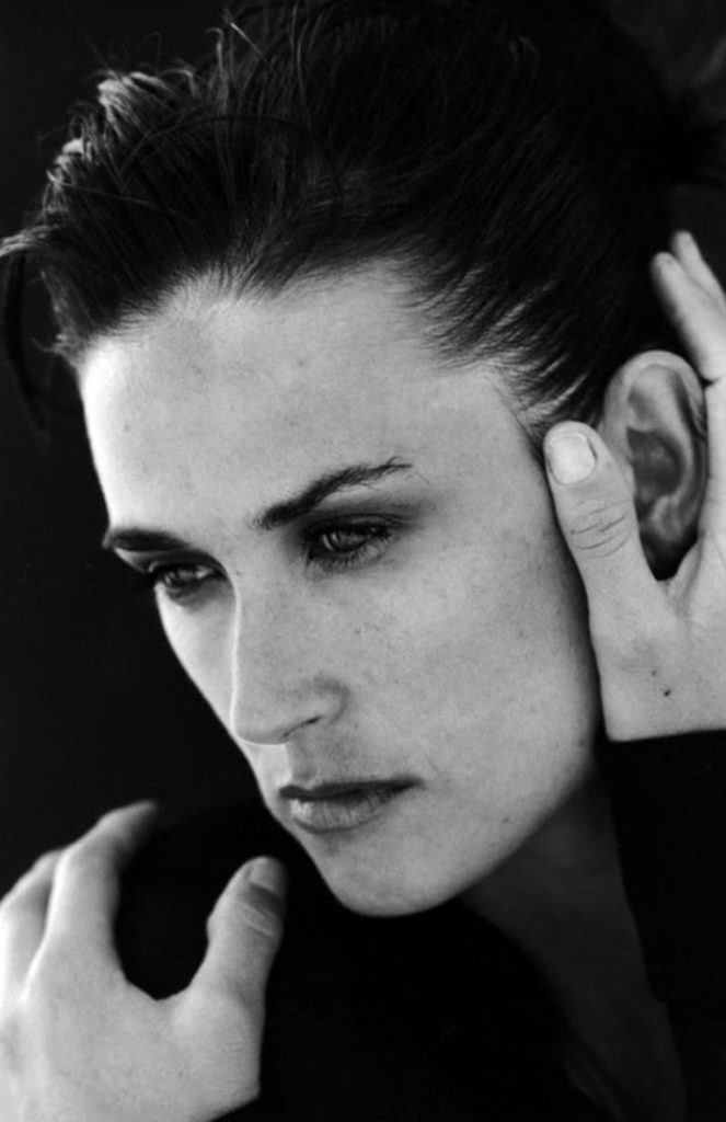 Demi Moore by Peter Lindbergh