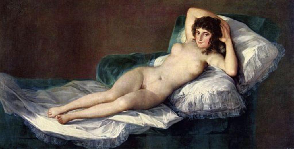 La Maja nue de Francisco de Goya