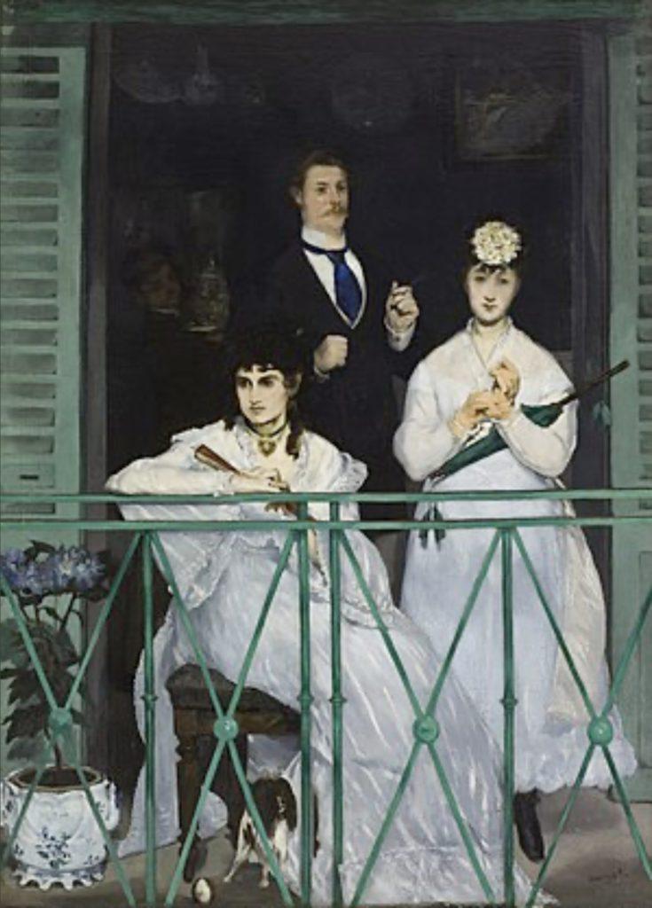 Le balcon d'Edouard Manet