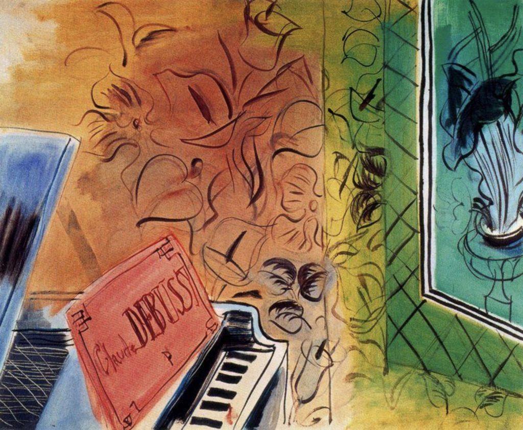 Hommage à Claude Debussy Par Raoul Dufy