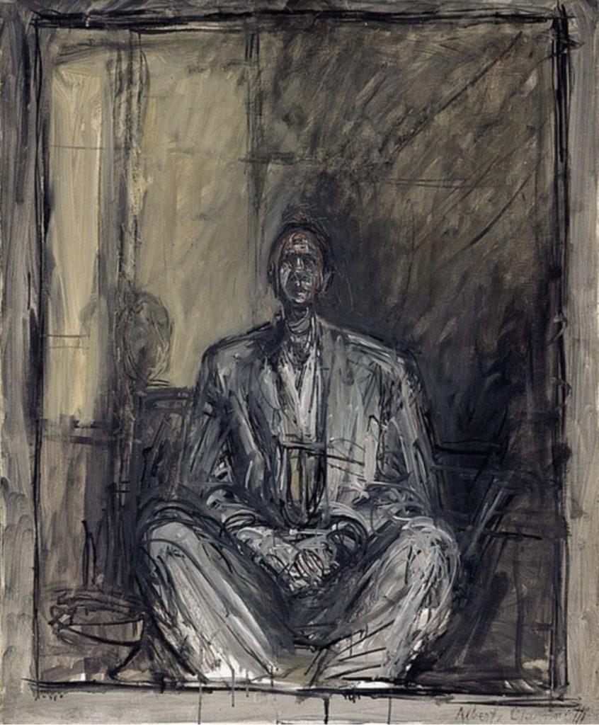 Portrait de Jean Genet par Alberto Giacometti