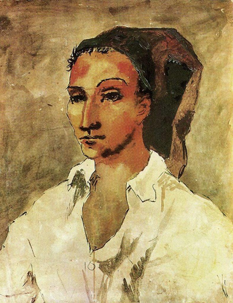 Jeune espagnol de Pablo Picasso