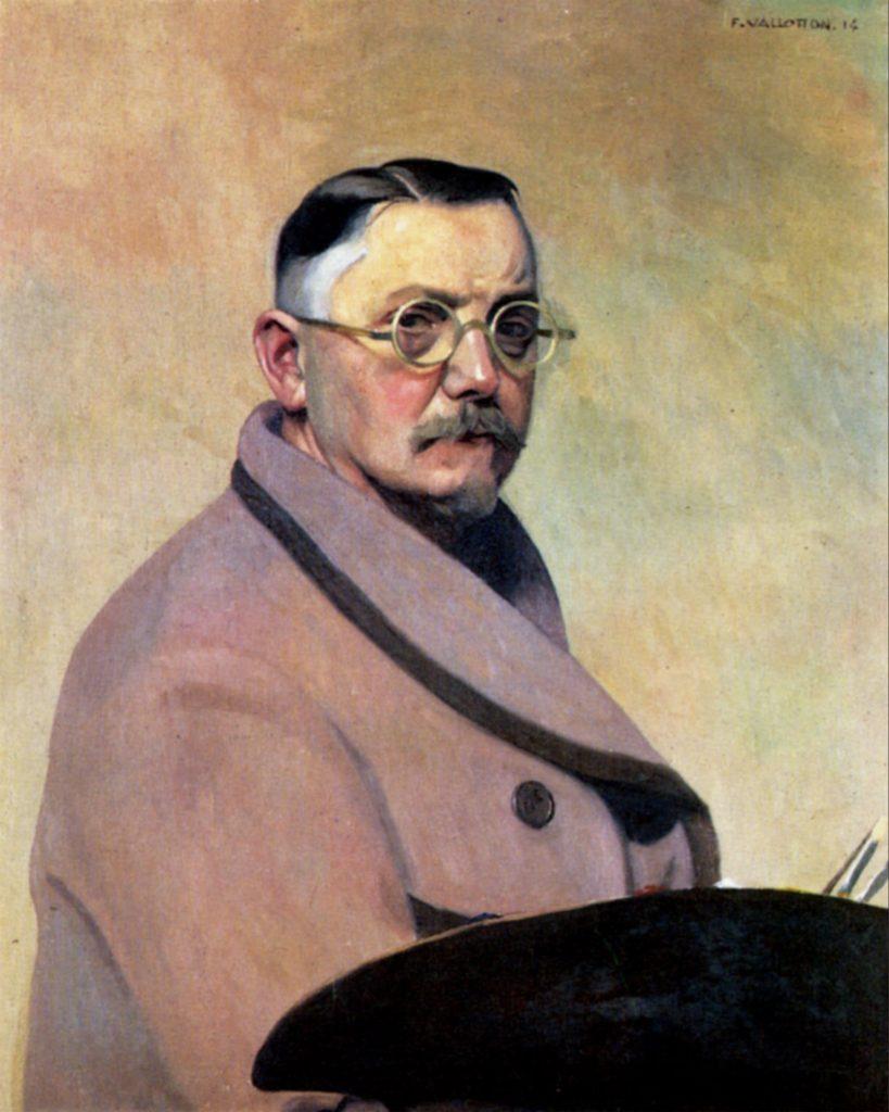 Autoportrait de Félix Vallotton