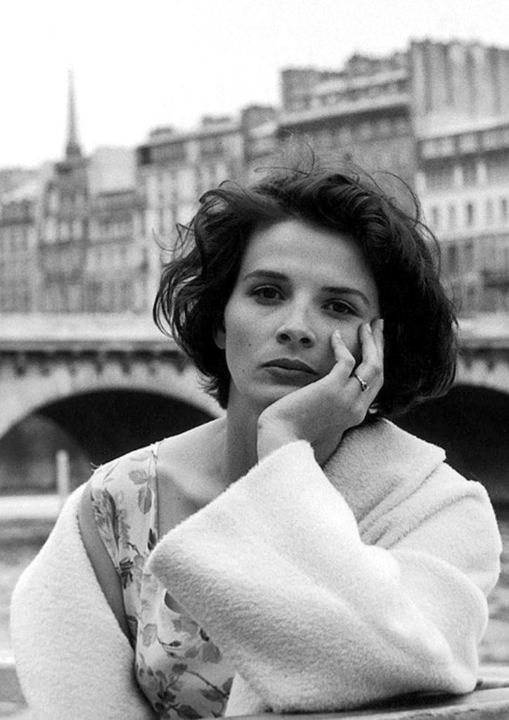Juliette Binoche par Robert Doisneau