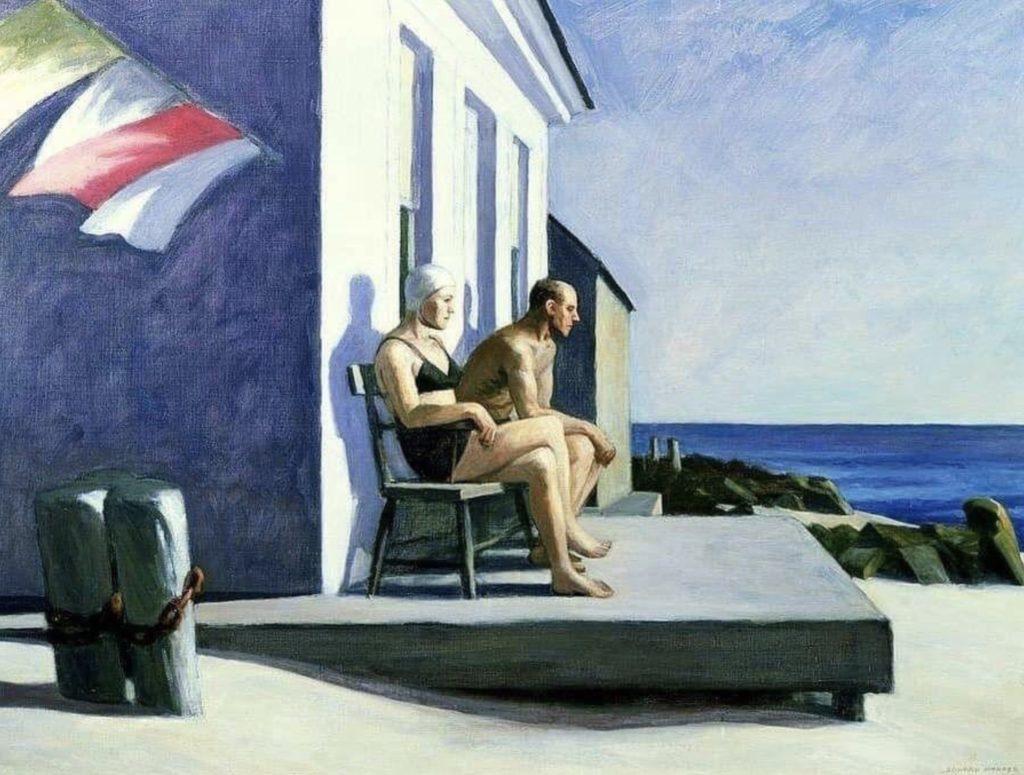 Sea Watchers - Edward Hopper