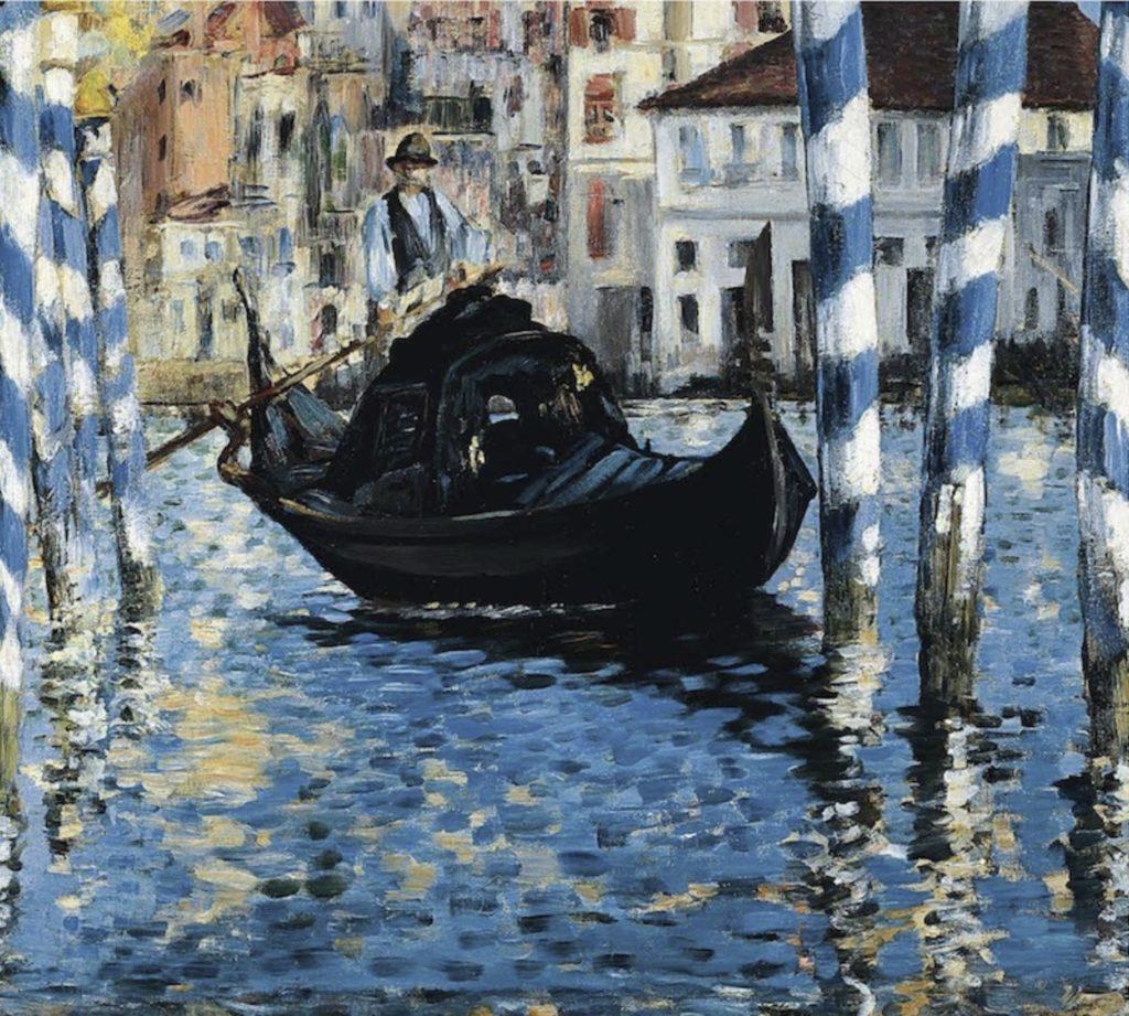 Le Grand Canal de Venise par Édouard Manet