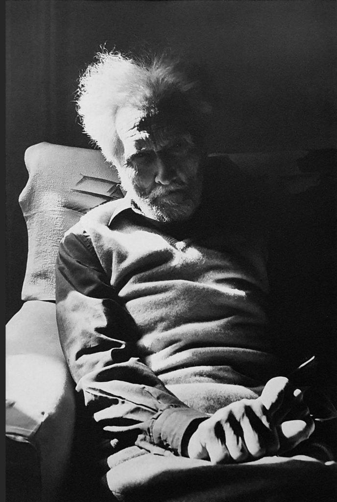 Ezra Pound par Henri Cartier-Bresson