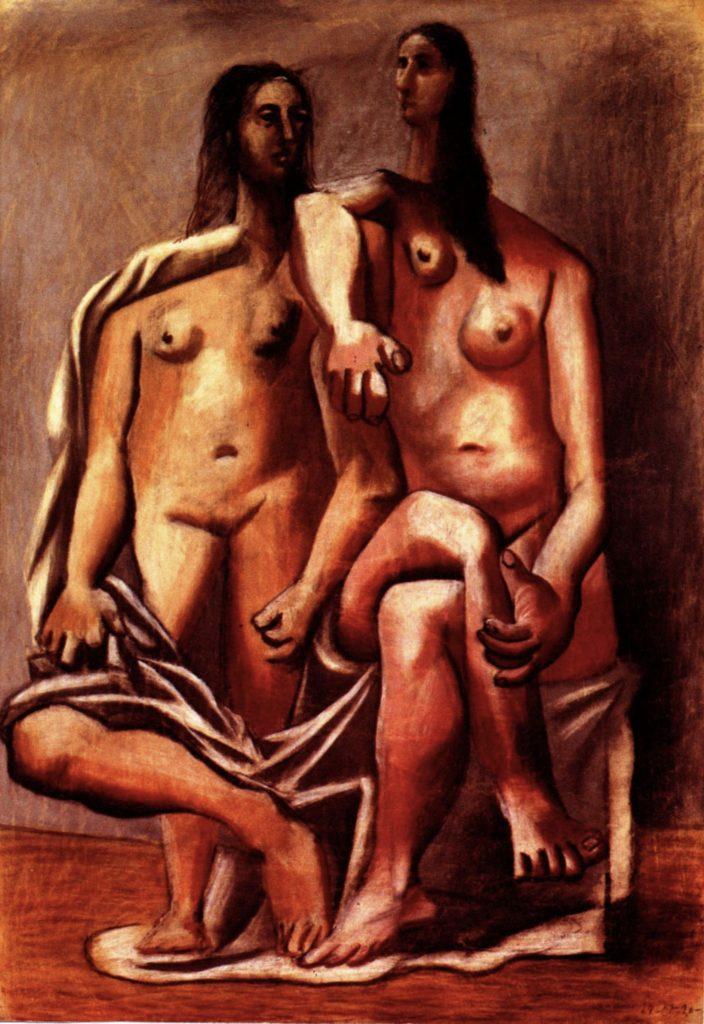 Deux baigneuses de Pablo Picasso
