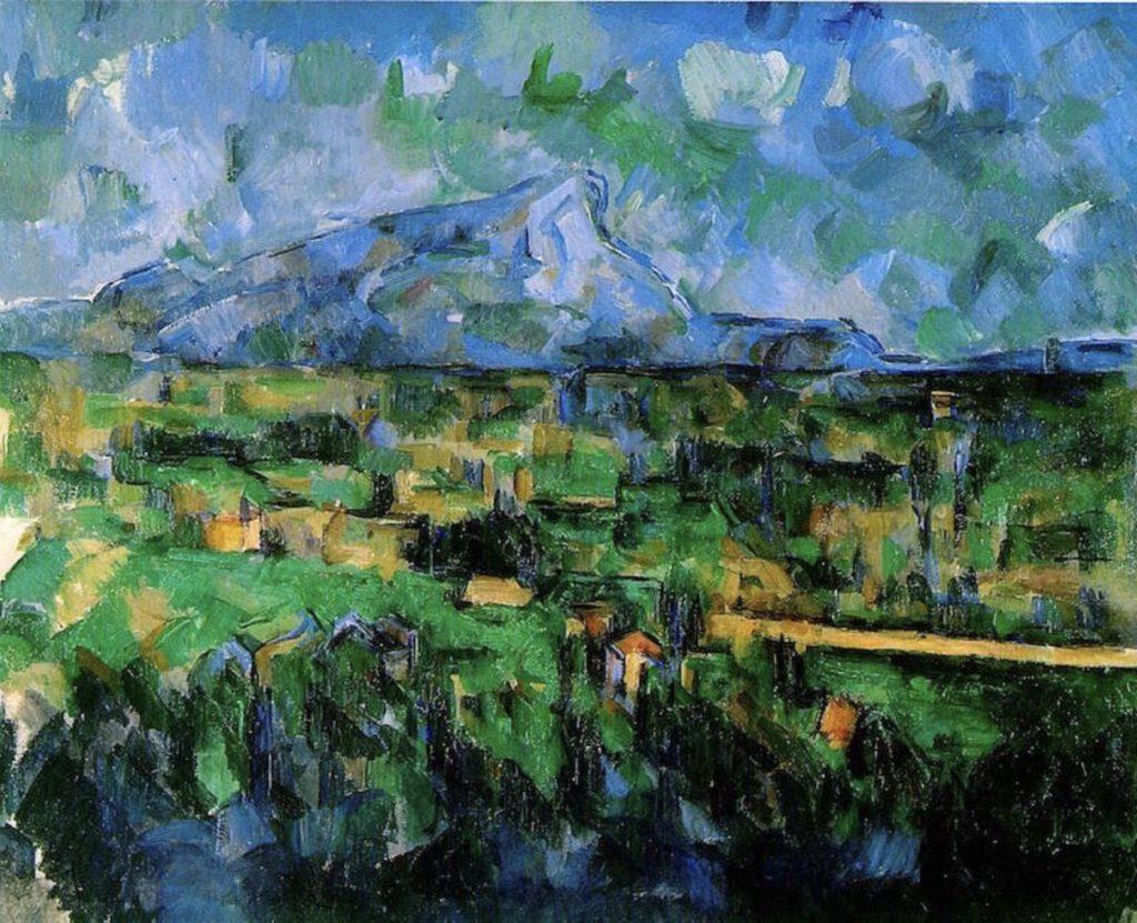 La Montagne Sainte-Victoire vue des Lauves par Paul Cézanne