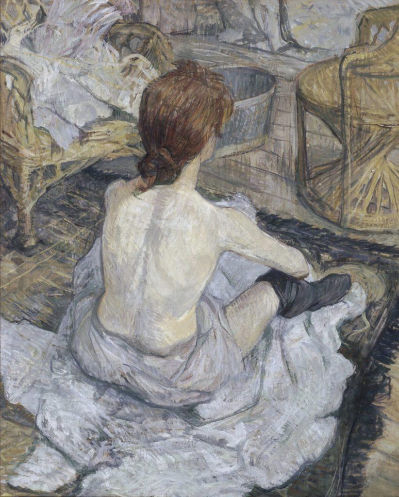 Rousse, dit aussi La Toilette (1889) De Toulouse Lautrec