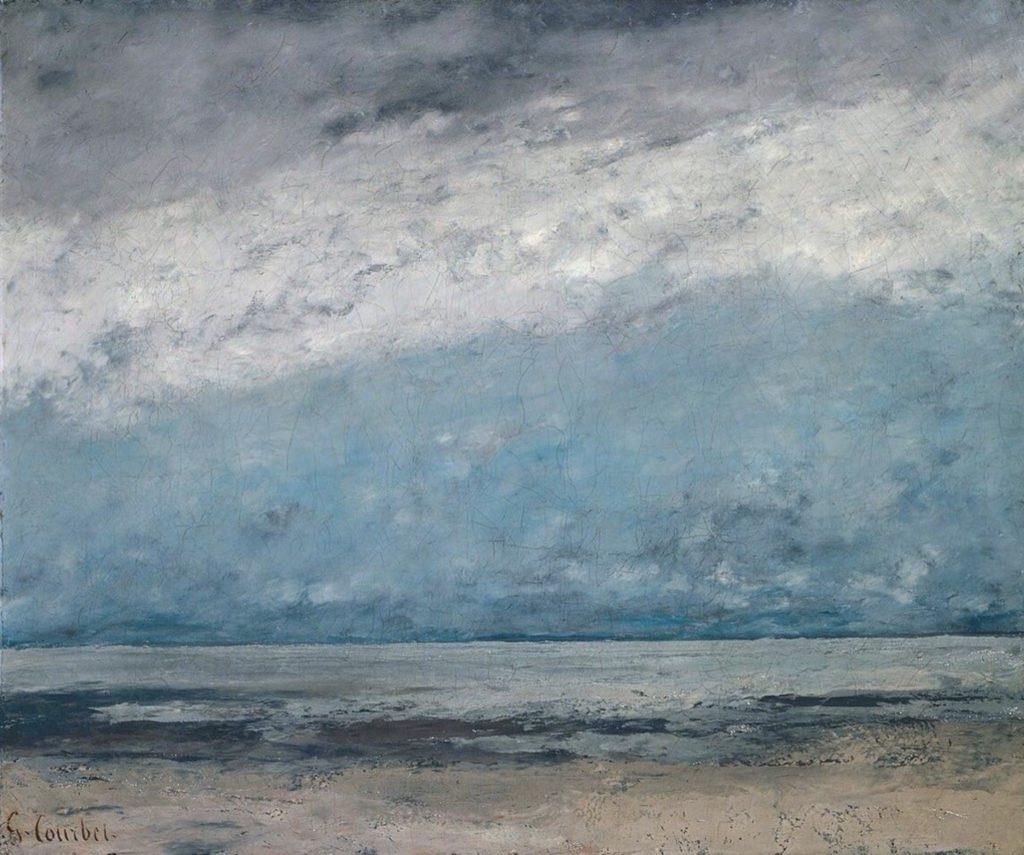 La plage de Gustave Courbet