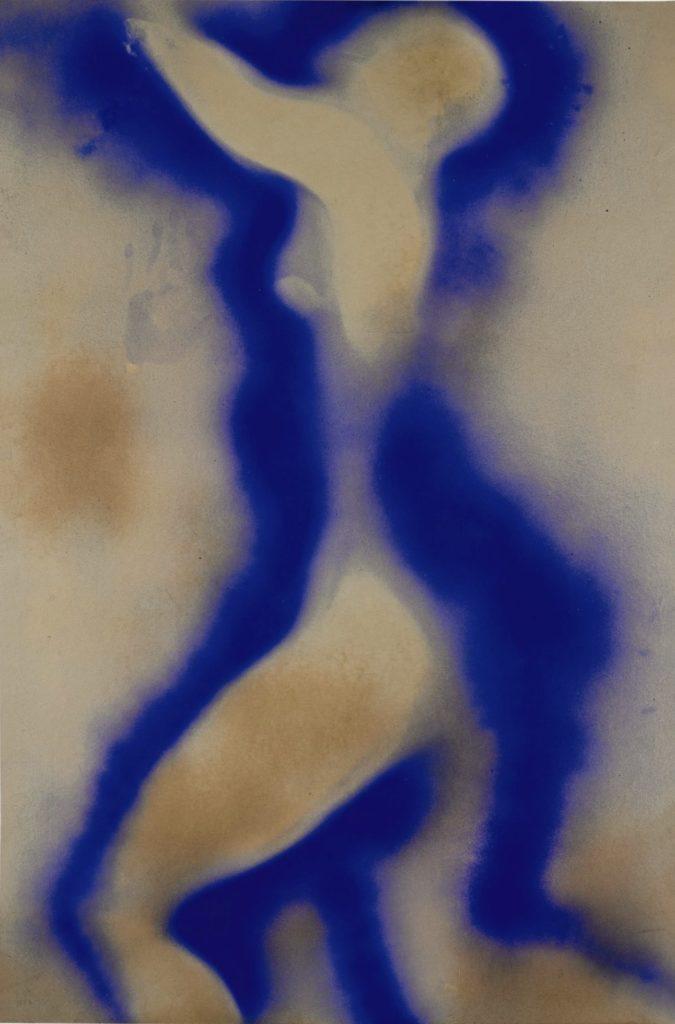 Anthropométrie d'Yves Klein