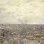Vue de Paris depuis Montmartre de Vincent VanGoh