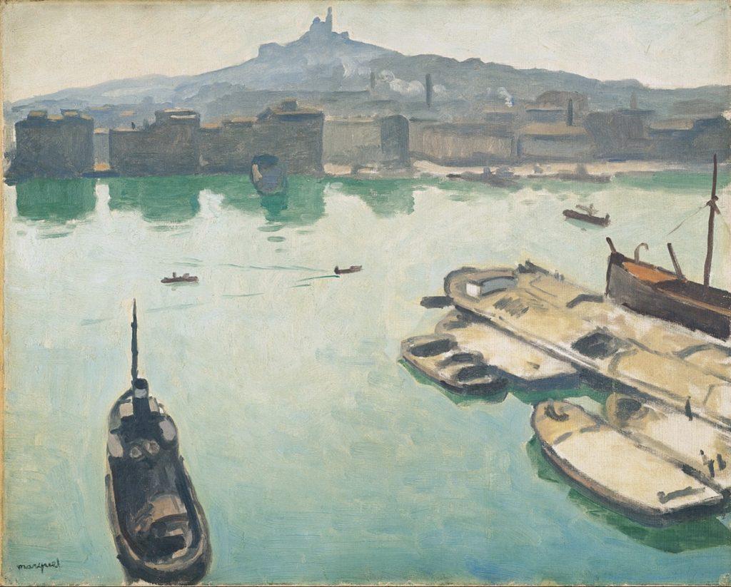 Port de Marseille par Albert Marquet