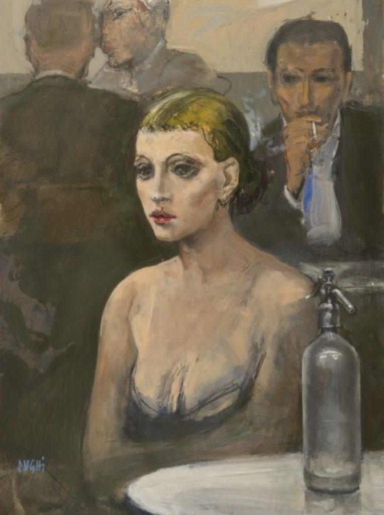 Portrait par Alberto Sughi