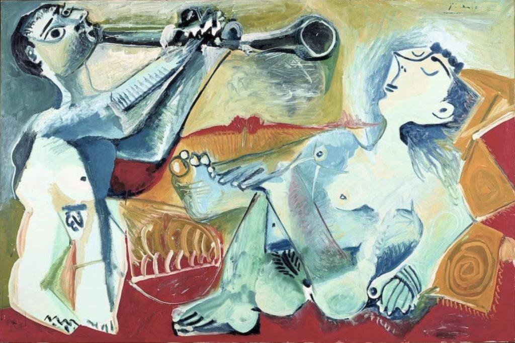 L'aubade de Pablo Picasso