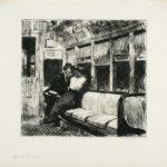 Night on the El Train by Edward Hopper