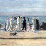 Au bord de la mer par Pierre Bonnard