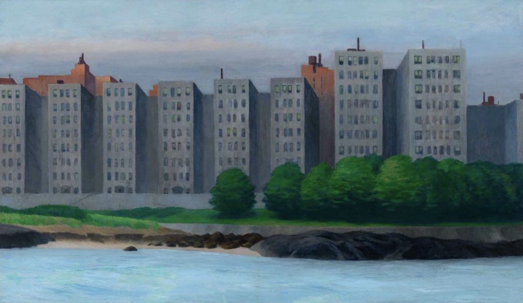 Immeuble d'appartements d'Edward Hopper