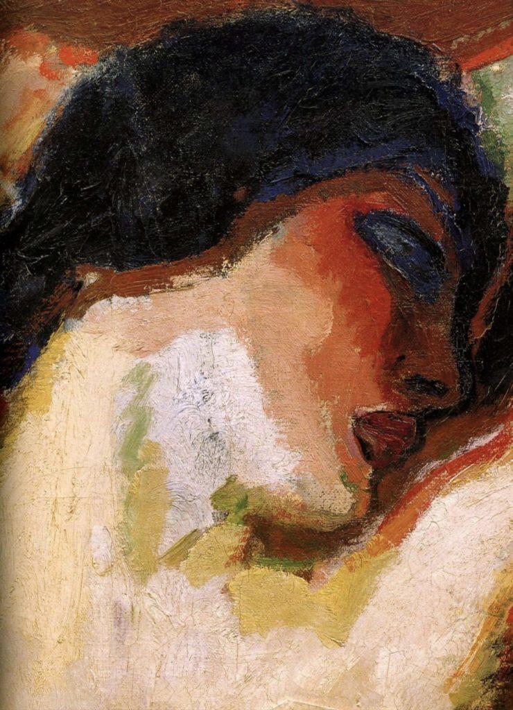Portrait de femme de Kees Van Dongen