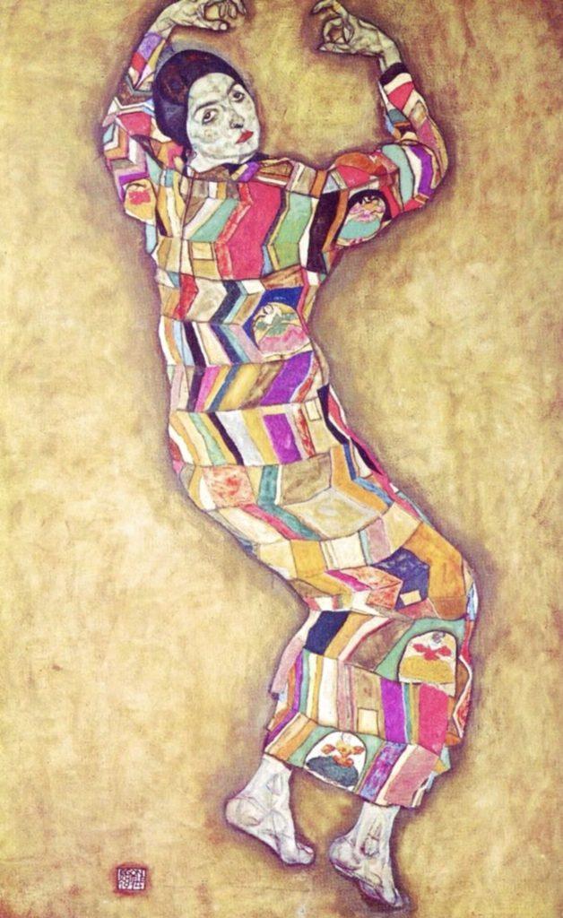 Portrait de Friederike Maria Beer par Egon Schiele