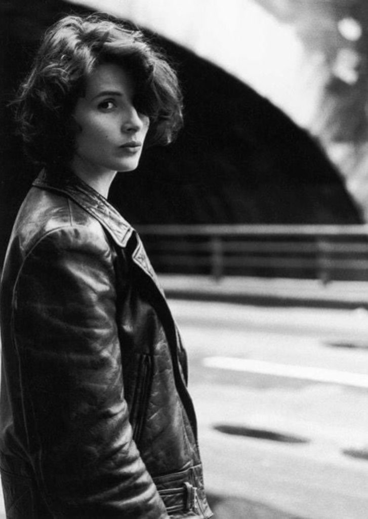 Juliette Binoche vue par Robert Doisneau