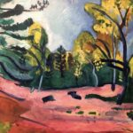 Clairière dans la Forêt de Fontainebleau par Henri Matisse