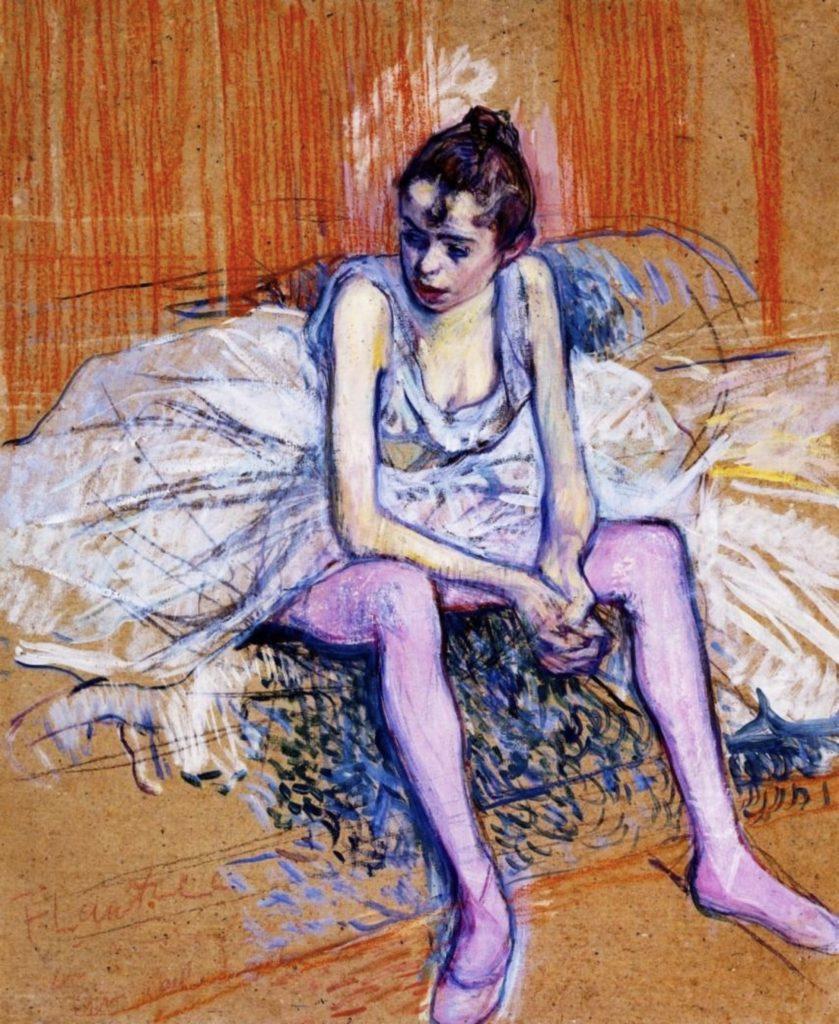 Tableau d'Henri de Toulouse-Lautrec