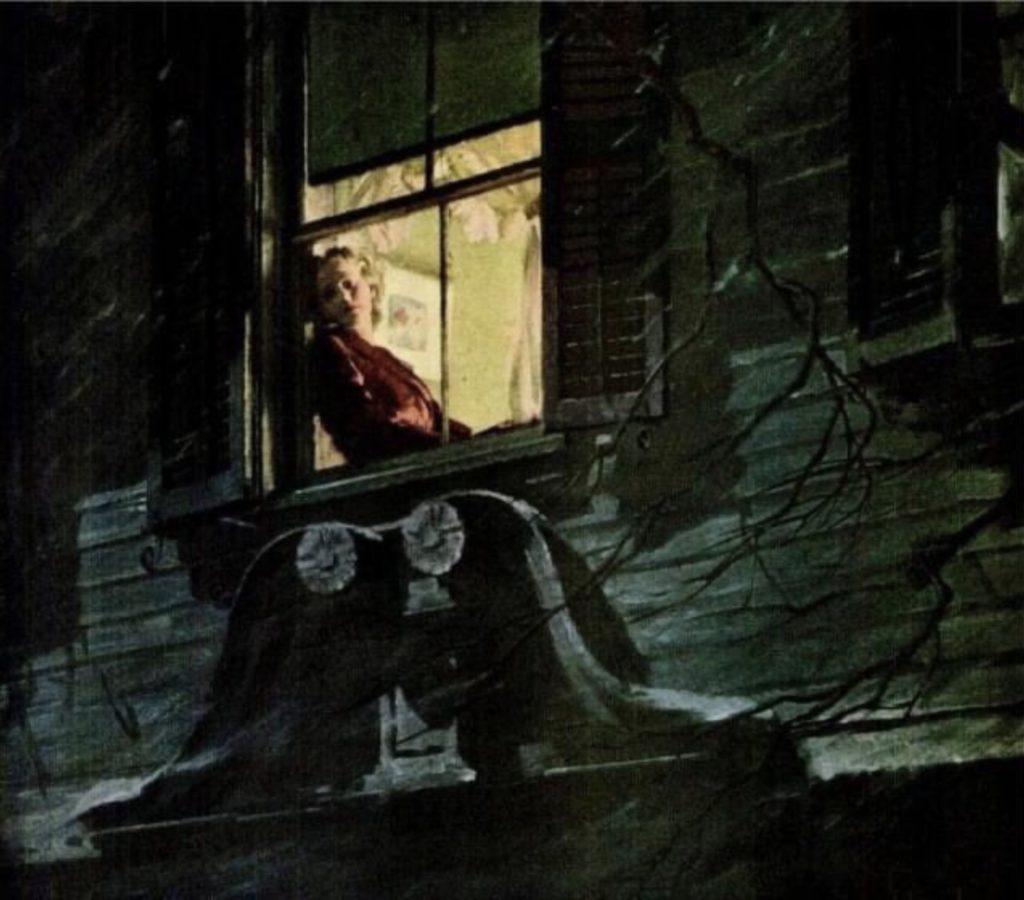 Femme à la fenêtre par Newell Convers Wyeth