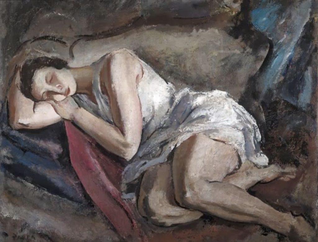 Femme endormie de Gínes Parra