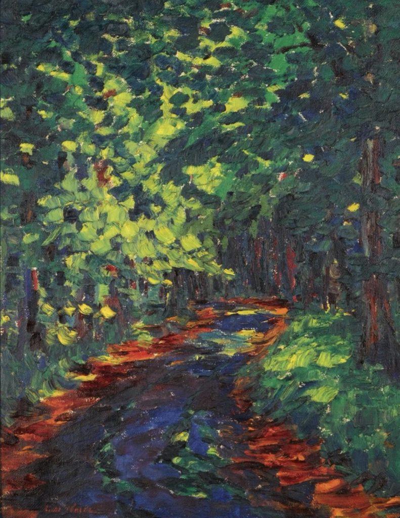 Chemin forestier d'Emil Nolde