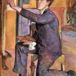 Autoportrait d'Alberto Giacometti