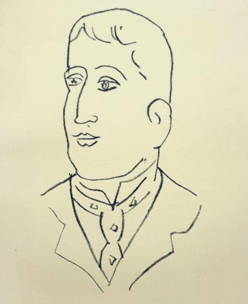 Guillaume Apollinaire par Henri Matisse