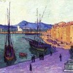 Port de Saint-Tropez par Francis Picabia