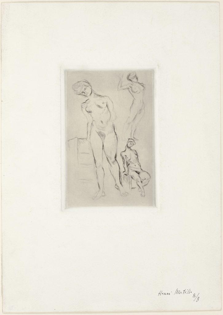 Trois nus d'Henri Matisse
