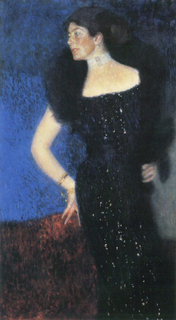 Portrait de Rose von Rosthorn-Friedmann par Gustav Klimt