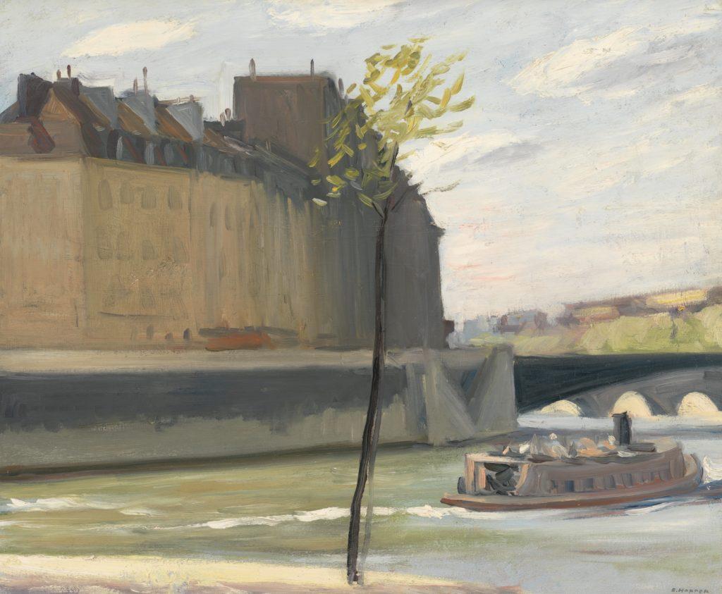 Paris par Edward Hopper