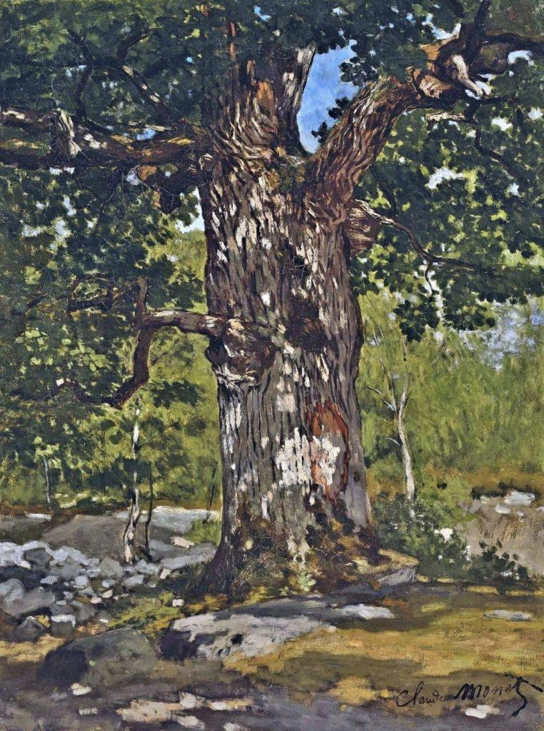 Le chêne de Claude Monet