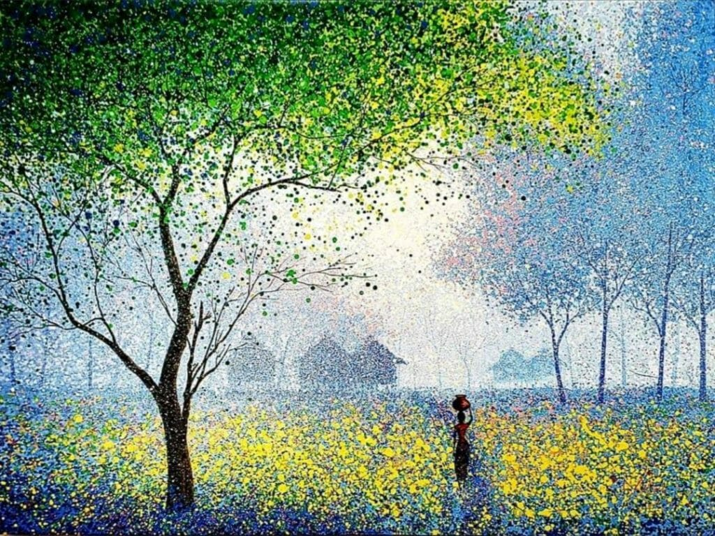 Ngwe Phyoe peintre birman