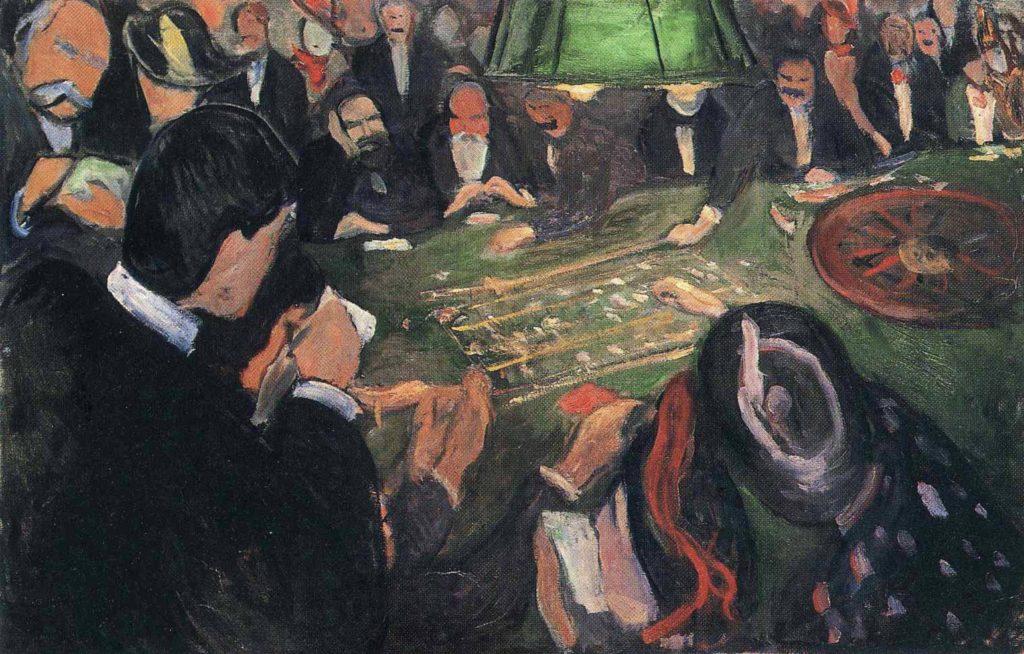 À la roulette d'Edvard Munch