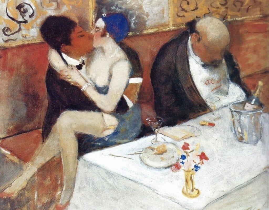 Armand Rassenfosse , Le Cocu