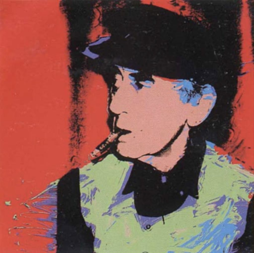 Man Ray par Andy Warhol