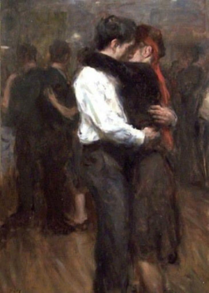 Slow Dance par Ron Hicks