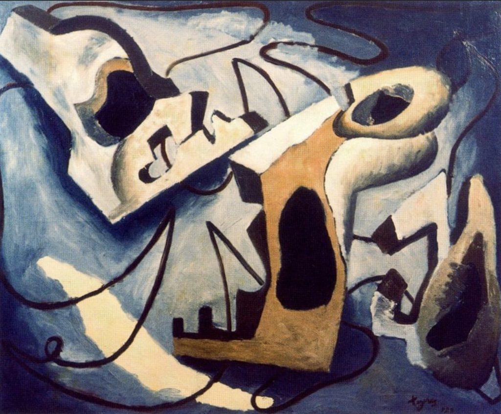 Tableau abstrait de José de Togores