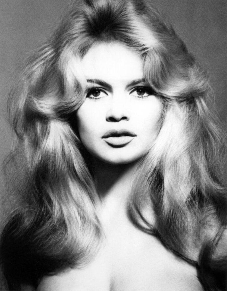 Portrait de Brigitte Bardot par Richard Avedon