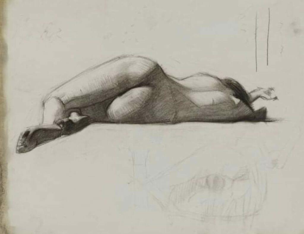Dessin d'Edward Hopper