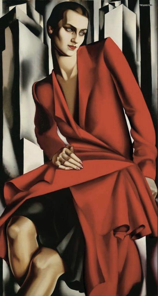 Mrs Bush par Tamara de Lempicka