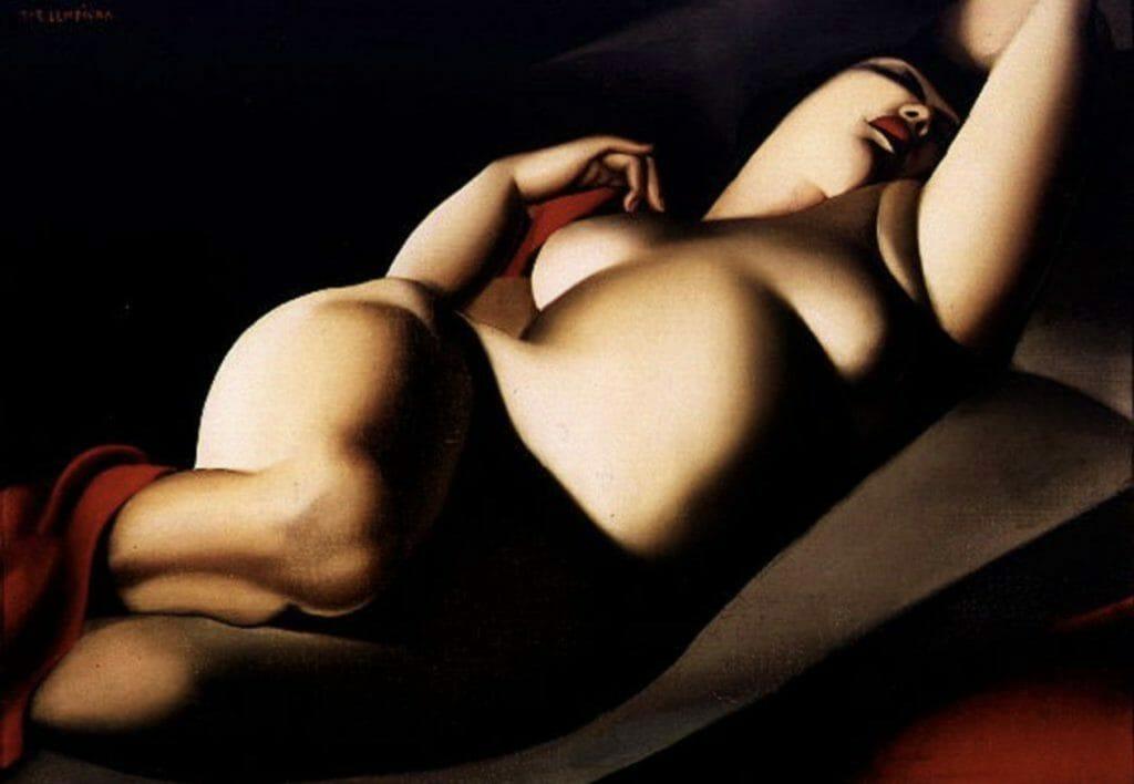 La Belle Rafaëla de Tamara de Lempicka